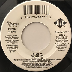 R. KELLY:GOTHAM CITY(LABEL SIDE-A)