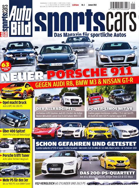 Auto Bild Sportscars 1/2012