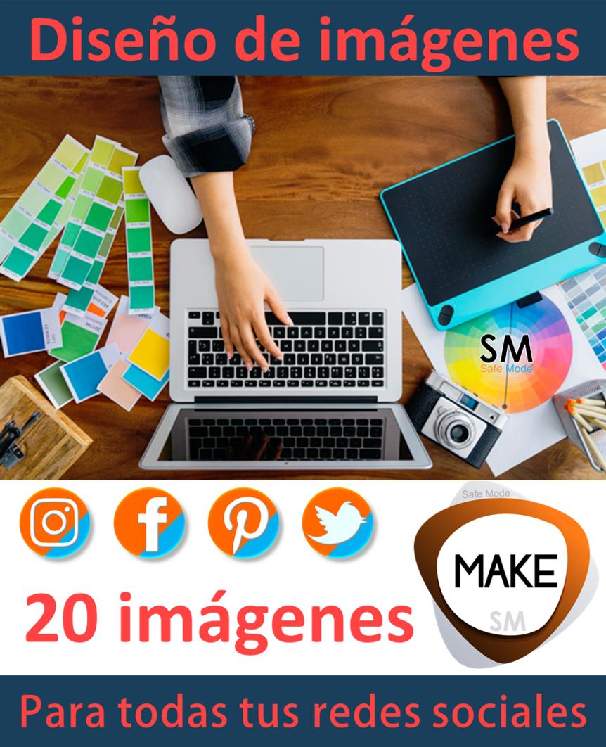 Diseño de imágenes para redes sociales 20 imágenes