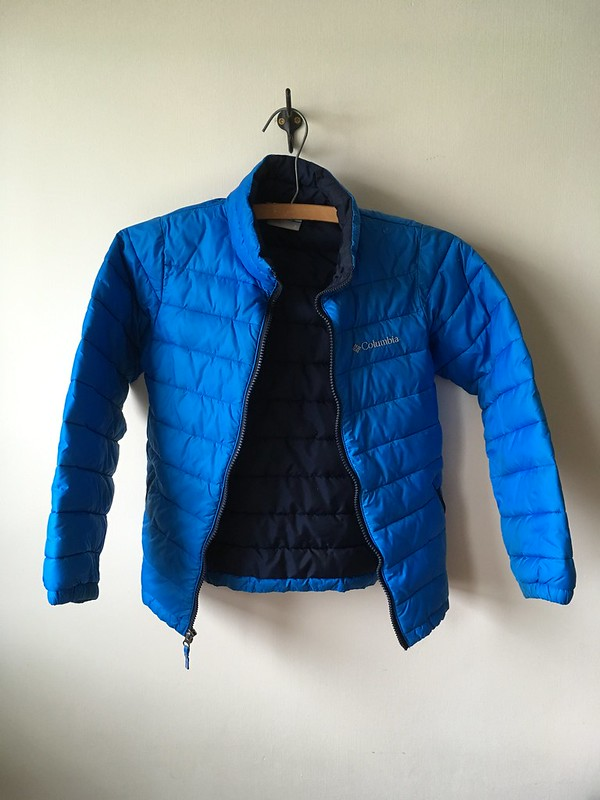 No Sew Repair for Down Jackets