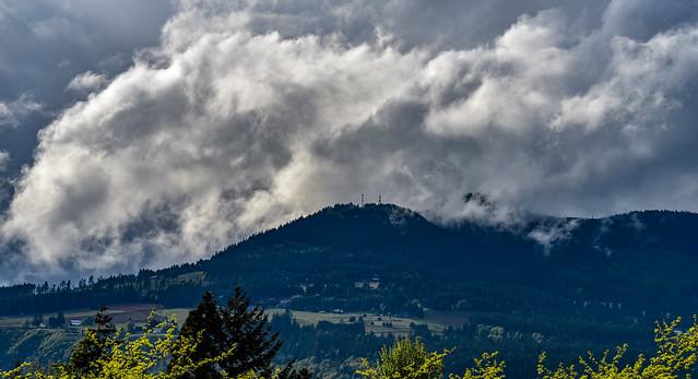 Low flying cloud
