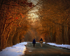 After dinner walk... by Kindred Souls