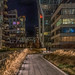 Cold and almost empty Highline at night