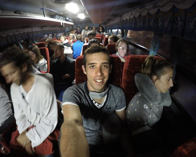 Nuestro autbús para ir a Batad