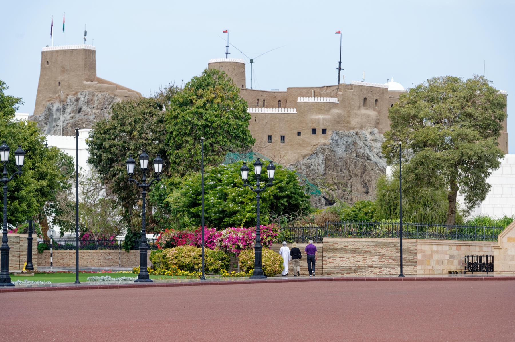 Al Mirani Fort, Muscat