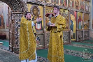 09.03.2019   Божественная литургия в Иверском монастыре