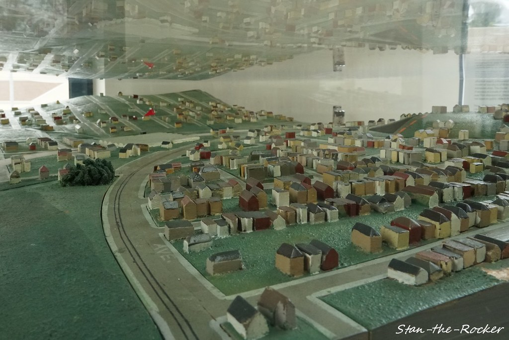 SFPL Oceanview Branch Library - 030119 - 04 - 1938 WPA Scale Model of San Francisco