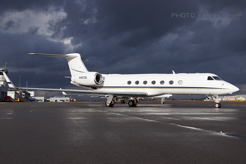 Gulfstream G-V(SP) - Private - N407GK | by Kelvin Jahae