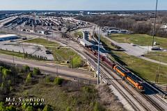 BNSF 1814 | EMD SD39-2 | BNSF Tennessee Yard