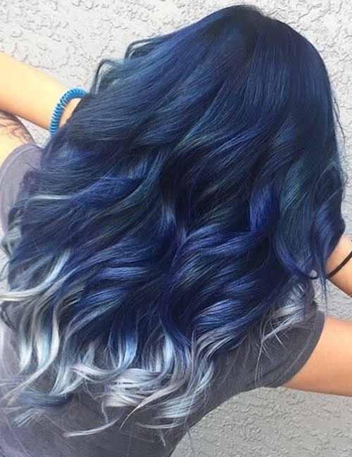 20 Amazing Dark Ombre Hair Color Ideas