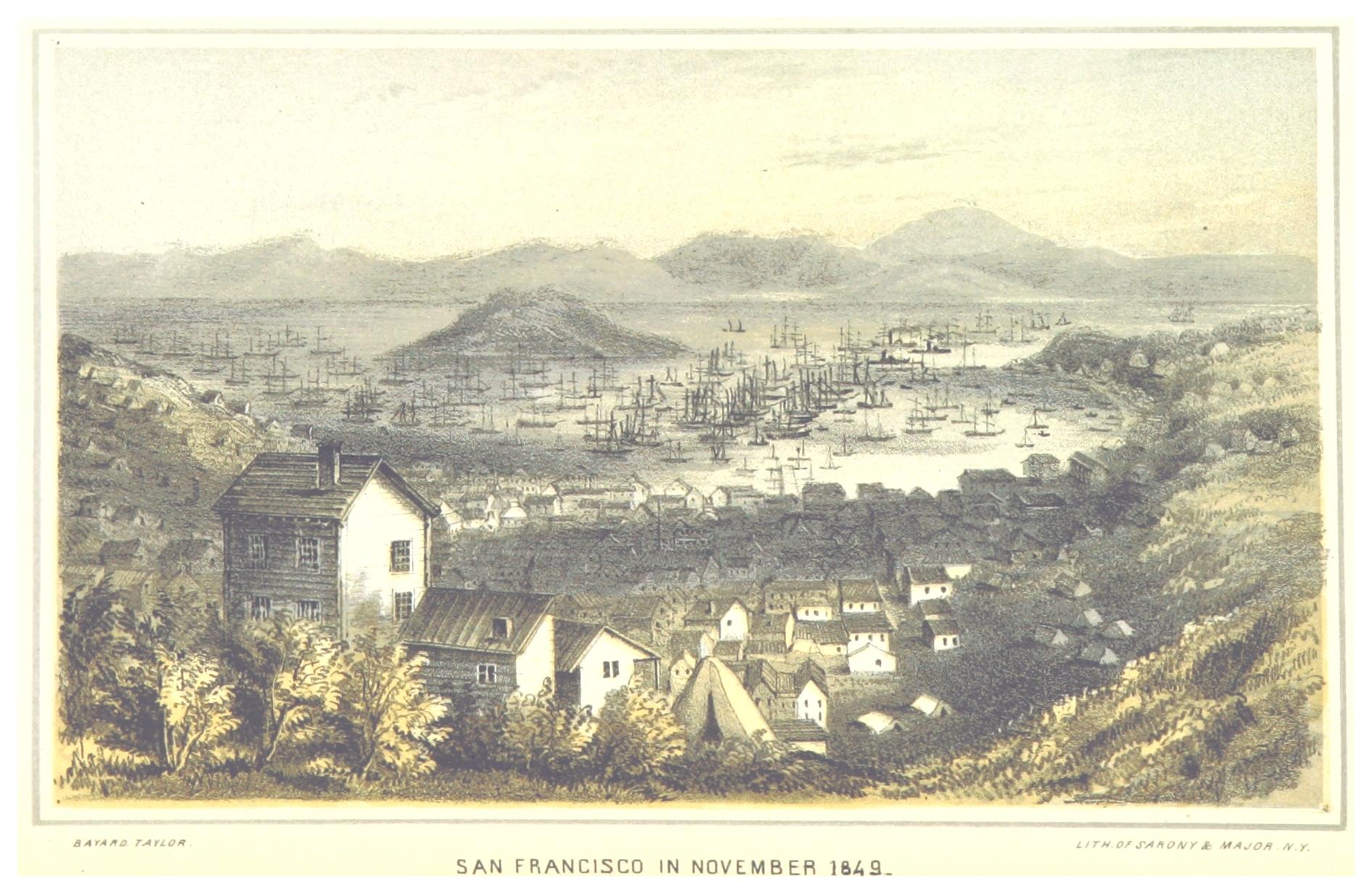 San Francisco in November 1849