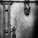 Porte, détail. Domme. Dordogne by Patrick Volpato