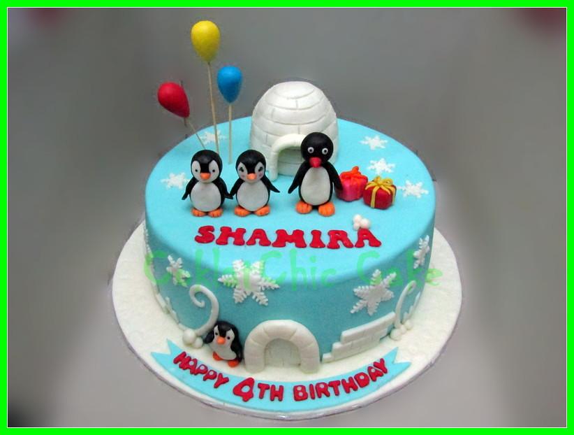 Cake Pingu SHAMIRA 24 cm