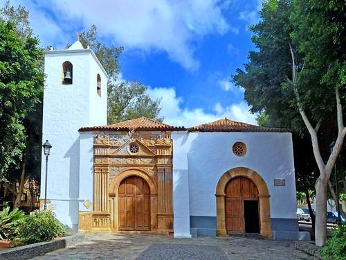 Espagne, l'île de Fuerteventura, l'église Nuestra Senora de la Regla