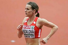 Vrzalová zlepšila 28 let starý halový rekord na 1500 m