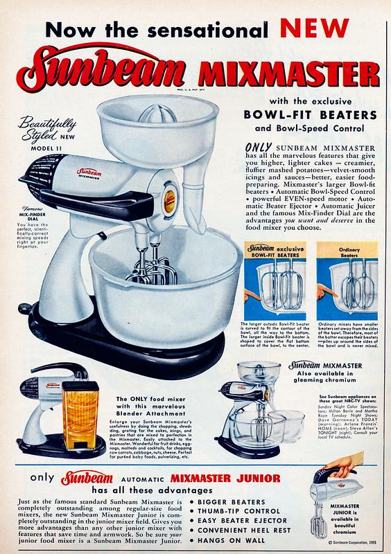 Sunbeam Mixmaster 1955
