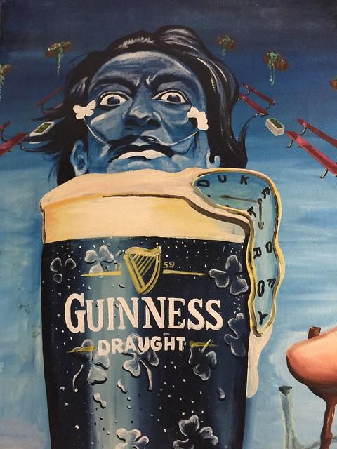 Guinness y Dalí