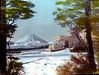 Chateau Tongariro & Mt Ngauruhoe in Winter
