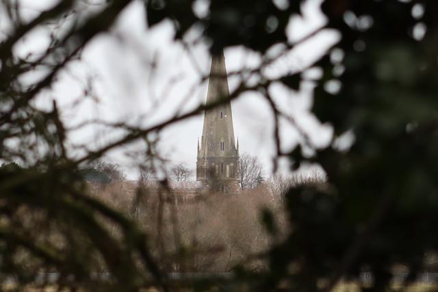 Peering Through The Trees Towards All Saints Church Leighton Buzzard