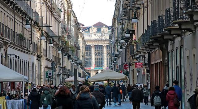 Torino - Via Garibaldi, Canon EOS 750D, Canon TS-E 90mm f/2.8