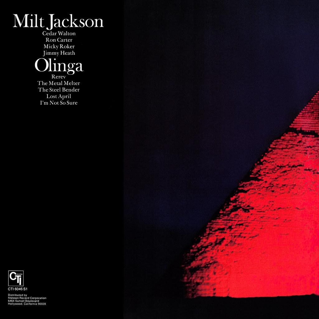 Milt Jackson - Olinga