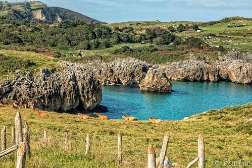 Ensenada de Buelna. Llanes. Asturias.