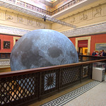 The Museum of the Moon at the Harris, Preston