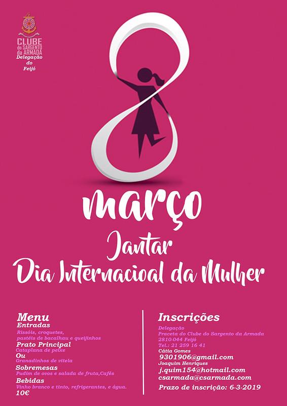 Cartaz Dia da Mulher 2019