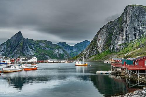 Hamnoya, Lofoten islands (Norway)