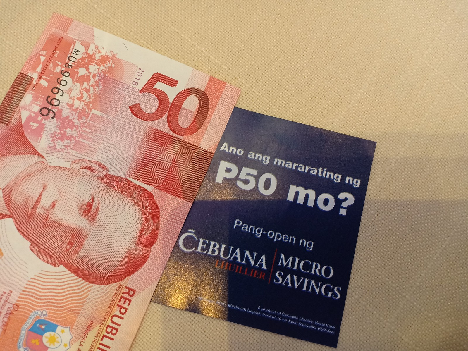Open a Savings Account with only 50 Pesos! | Cebuana Lhuillier Micro Savings