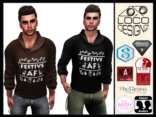 Festive AF Sweater