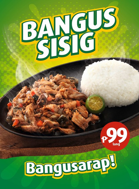 Sisig for Lent? Possible with Mang Inasal Bangus Sisig