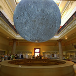 Moon at the Harris Museum