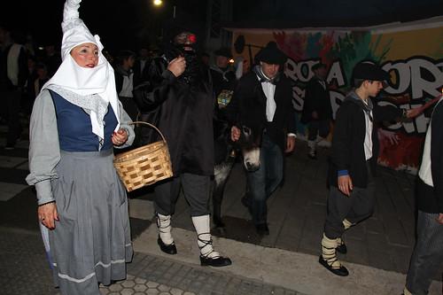 Olentzero eta Mari Domingi Zizurkilen