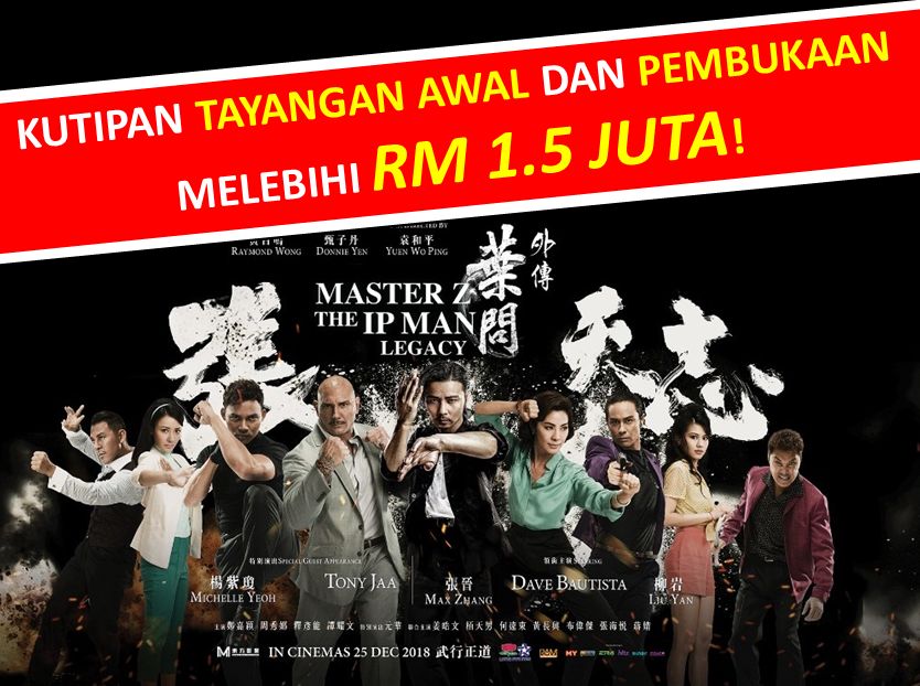 Sneak Preview and Opening- Box Office (Malay)