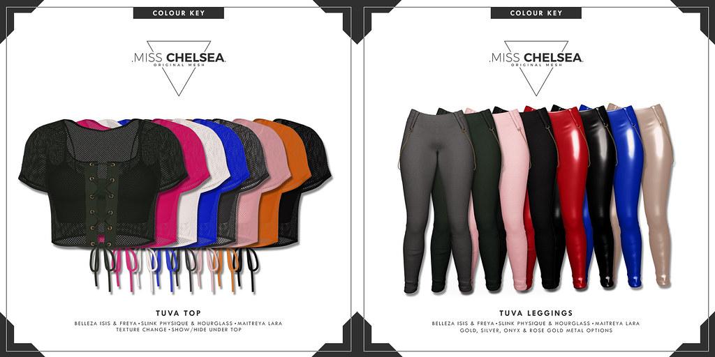 .miss chelsea. tuva top & leggings @ Equal10