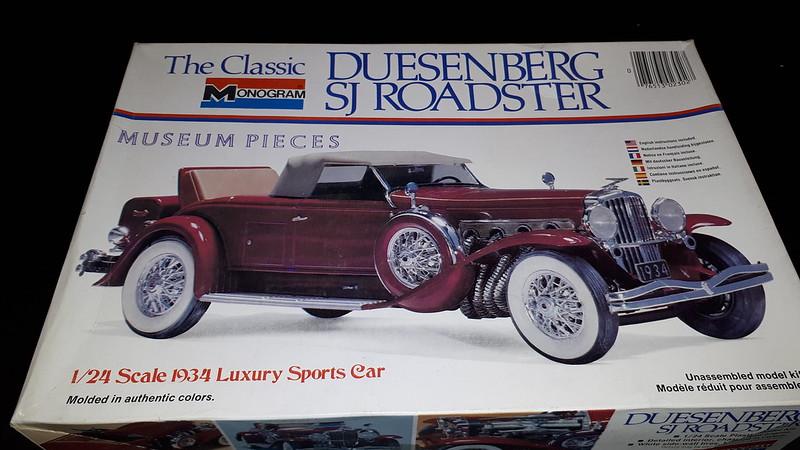Monogram Duesenberg SJ roadster