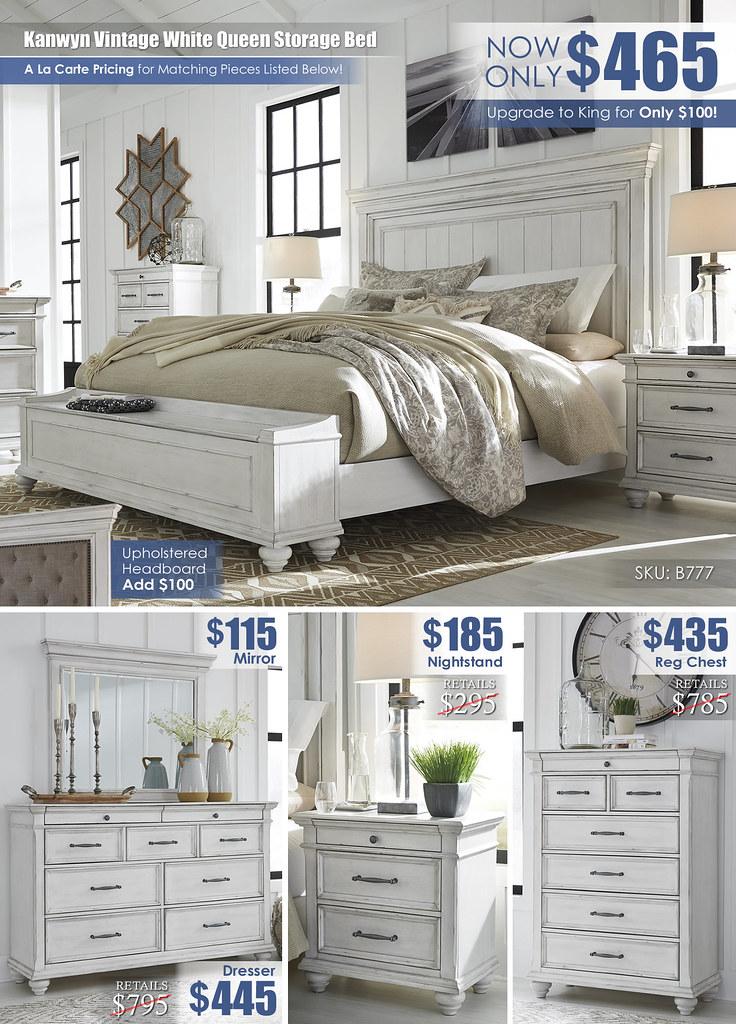 Kanwyn Vintage White Queen Storage Close Layout_B777