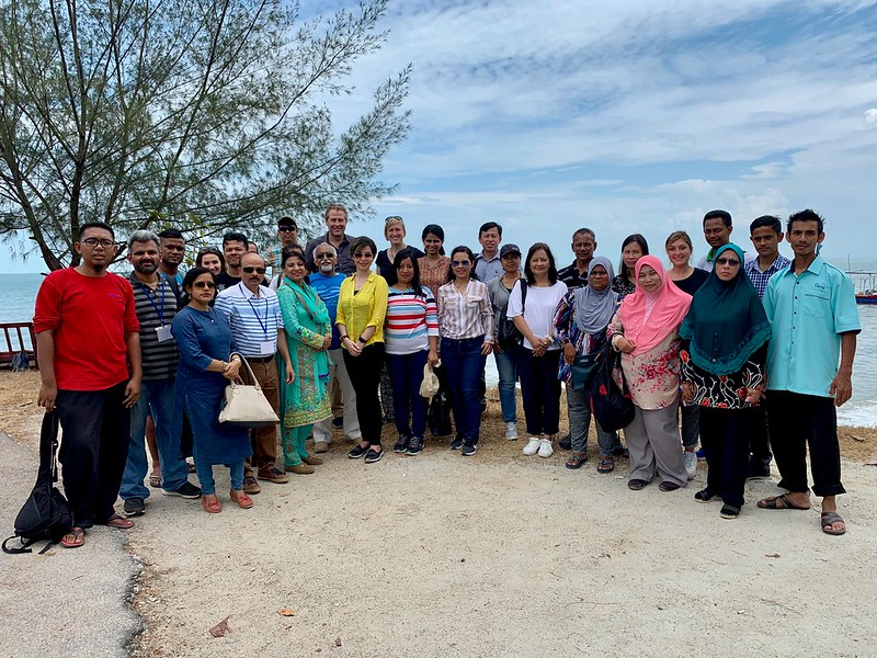 Participants in the Multi-Stakeholder Information and Communications Workshop in Teluk Bahang village, Penang, Malaysia. Photo by Paola Reale.