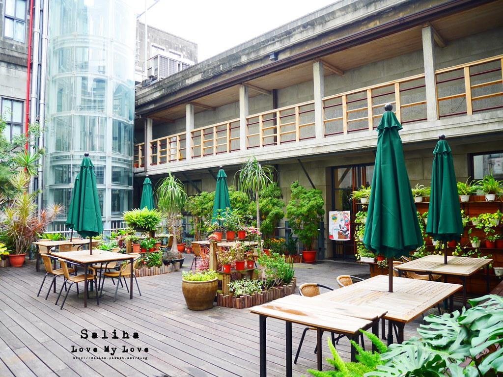 台北車站台大醫院站附近親子餐廳恐龍餐廳花園景觀餐廳咖啡下午茶 (4)