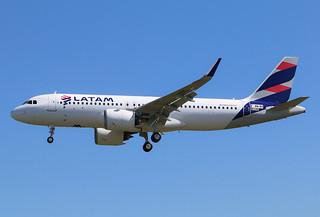 F-WWBV Airbus A320 Néo Latam