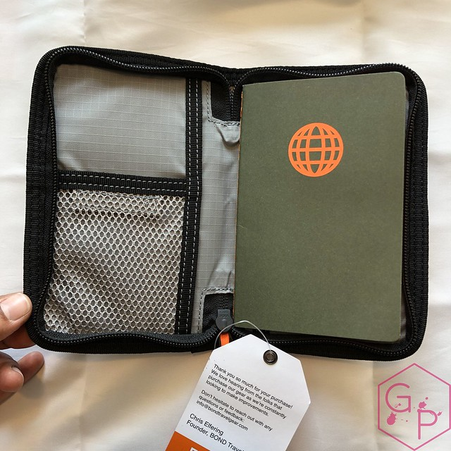 Bond Travel Gear Wallet & Field Journal & Tomoe River Notebooks Review 4