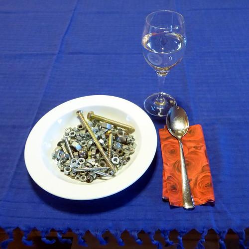 Schwere Mahlzeit