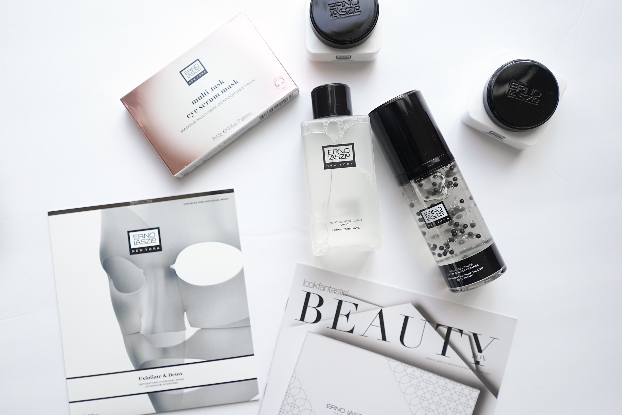 Erno Laszlo, Lookfantastic, LFBEAUTYBOX, Celebrity skincare, Luxury beauty, Mom beauty, mom blogger