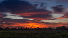 Sunrise over Goleta