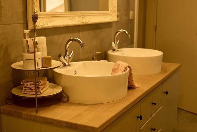 Badkamermeubel met waskommen