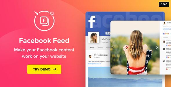 Facebook Feed v1.11.0 - WordPress Facebook Plugin