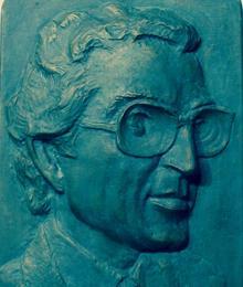 Bajorrelieve de Sánchez-Colorado por el escultor Kalato. Colección de Pedro Sánchez-Colorado