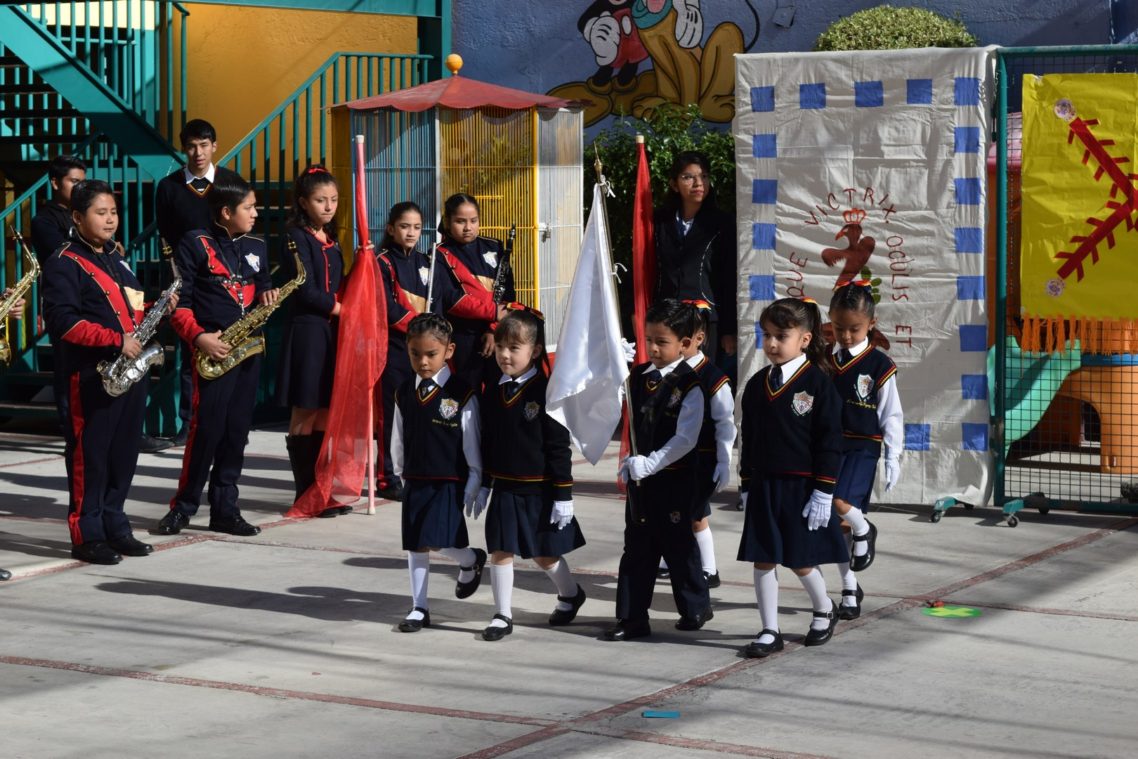 Ceremonia Conmemorativa del Día de la Bandera
