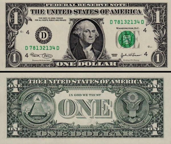 1 americký dolár USA 2003 A, P515a D Ohio